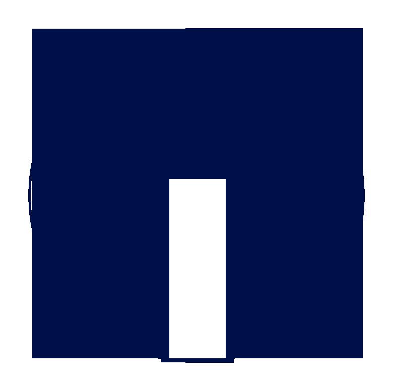 blue header circle