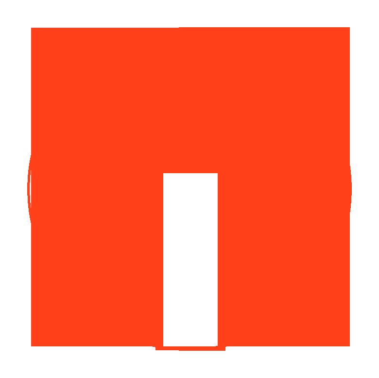 orange header circle