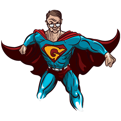 Super man icon